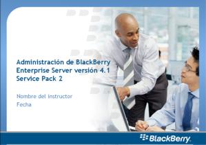 Administracion de BES 4.1 SP2